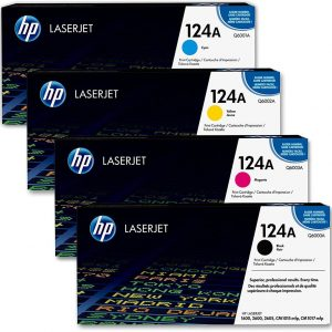 HP 124A Toner Cartrige Pack