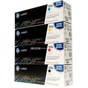 HP 125A Toner Cartridge Colour Set