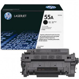 HP 55A Black LaserJet Toner Cartridge