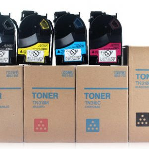 Konica Minolta TN 310 Toner Cartridge Premium Quality (CMYK)