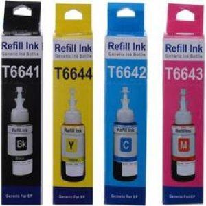 Epson Inkjet Series Printers Refill Ink Set